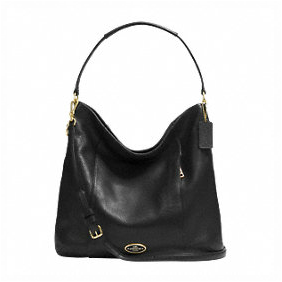 1a189e6134 COACH F34511 SHOULDER BAG IN PEBBLE LEATHER. COLOR   LIGHT GOLD BLACK